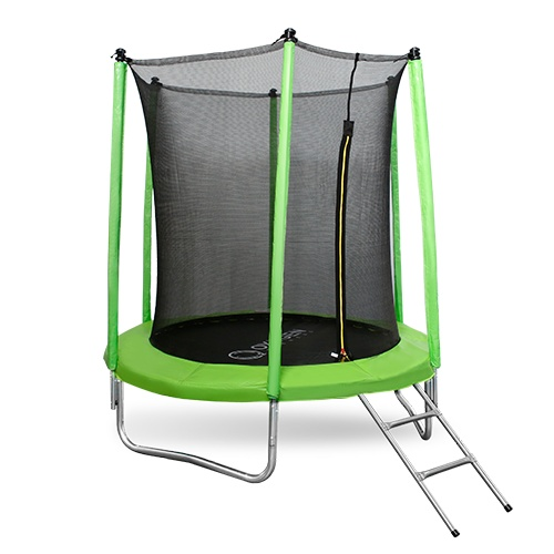 Oxygen Standard 6ft inside (Light green) из каталога детских батутов в Волгограде по цене 11990 ₽