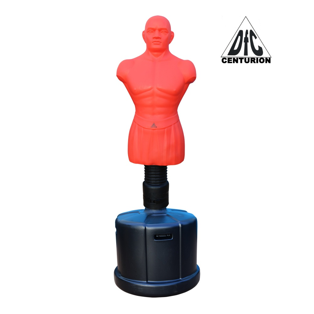 Манекен для бокса DFC Centurion Boxing Punching Man-Medium водоналивной - красный